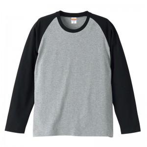 5.0オンス ラグランロングスリーブTシャツ