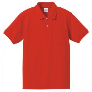 6.2オンスドライハイブリッドポロシャツ(ポケット付)